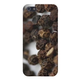 Black Pepper iPhone 5/5S Cases