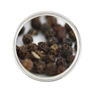 Black Pepper Lapel Pin