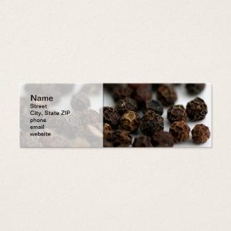 Black Pepper Mini Business Card