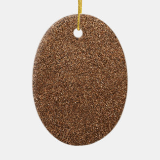 black pepper texture ceramic ornament