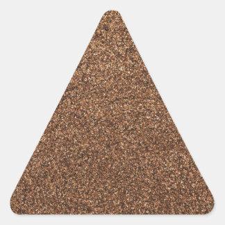 black pepper texture triangle sticker