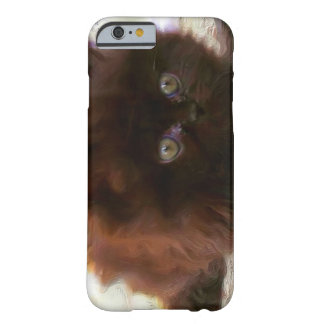 Black persian kitten barely there iPhone 6 case