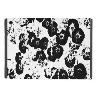 Black Petunias iPad Mini Case