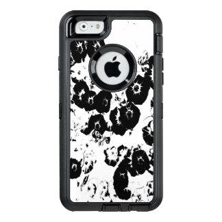 Black Petunias OtterBox Defender iPhone Case