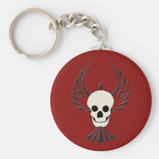 Black Phoenix Keychain