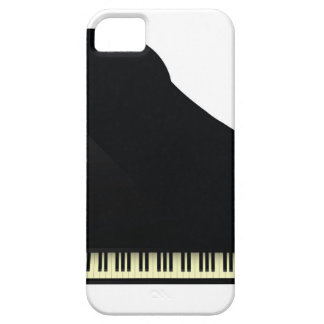 black piano barely there iPhone 5 case