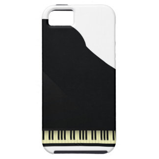 black piano iPhone 5 cover