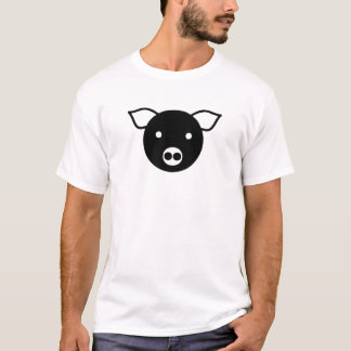 Black Pig, Piggy, Leather, Dom, LGBT, Gay, Love T-Shirt