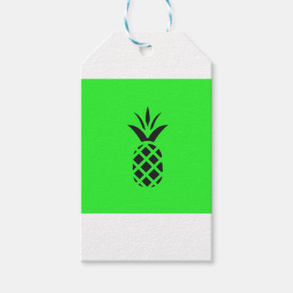 Black pine apple in Green Gift Tags