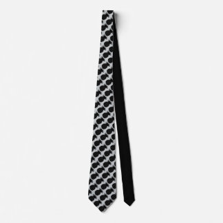 Black Pineapple Tie