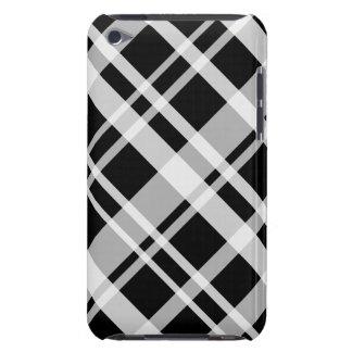 Black Plaid iPod Touch Case-Mate Case