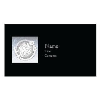 Black Plain - Business Business Card Templates