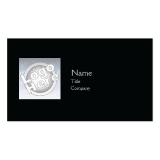 Black Plain - Business Pack Of Standard Business Cards