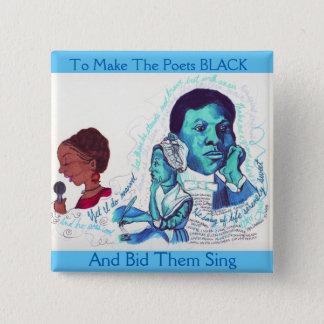 Black Poets- Black History Button