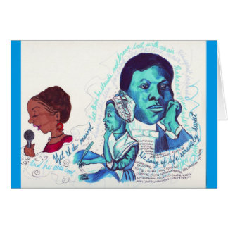 Black Poets- Black History Card