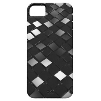Black Pointy Cubes iPhone 5 Covers