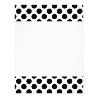 Black Polka Dots Flyer