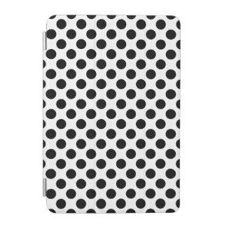 Black Polka Dots iPad Mini Cover