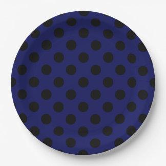 dark navy plates. Black Bedroom Furniture Sets. Home Design Ideas