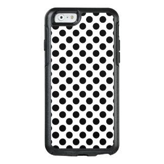 Black Polka Dots OtterBox iPhone 6/6s Case