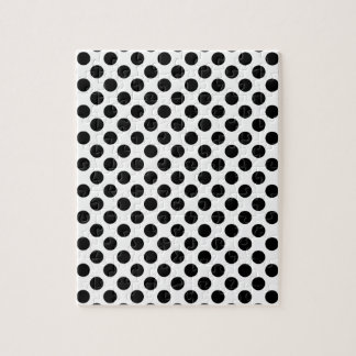 Black Polka Dots Puzzle