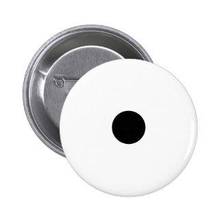 Black Polkadots Small Buttons