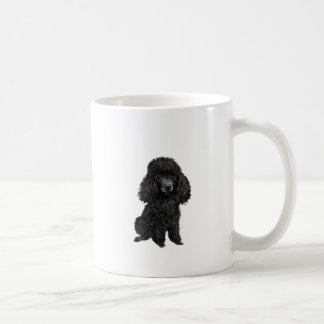 Black Poodle (#3) Coffee Mug