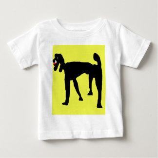 Black poodle baby T-Shirt