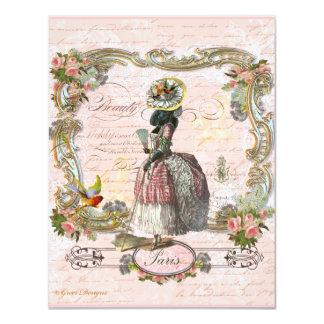 Black Poodle  in Marie Antoinette Costume Announcement