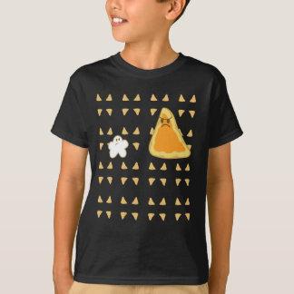 Black Popcorn vs Nacho T shirt