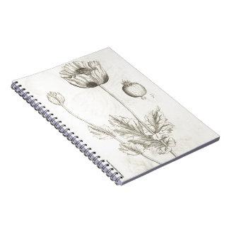 Black Poppy Notebooks