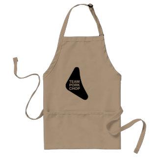 Black Pork Chop Design Standard Apron