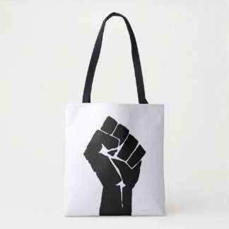 Black Power Fist Tote Bag