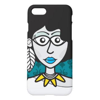 BLACK POWER GIRL iPhone 8/7 CASE