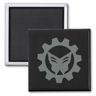 Black Project Logo Magnet