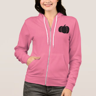 Black Pumpkin Neon Heather Pink Hoodie