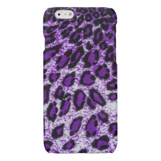 Black Purple Leopard Pattern Print Design