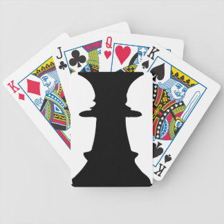 Black Queen Bicycle Playing Cards