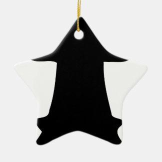 Black Queen Ceramic Ornament