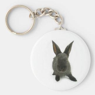 black rabbit keychain