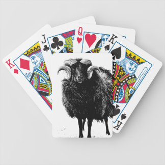 Black Ram Poker Deck