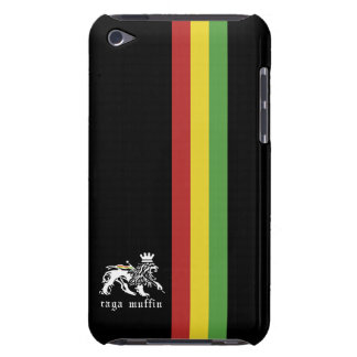 Black Rasta Stripe  iPod Touch Case