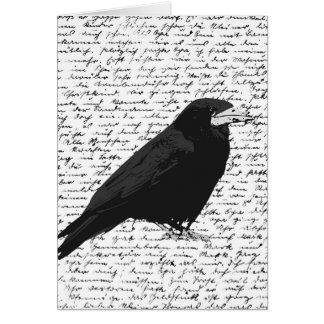 Black raven card