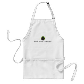 Black Raven Essentials Logo Apron