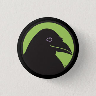 Black Raven Essentials Logo Button