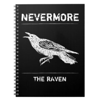 Black, Raven, Nevermore Note Book