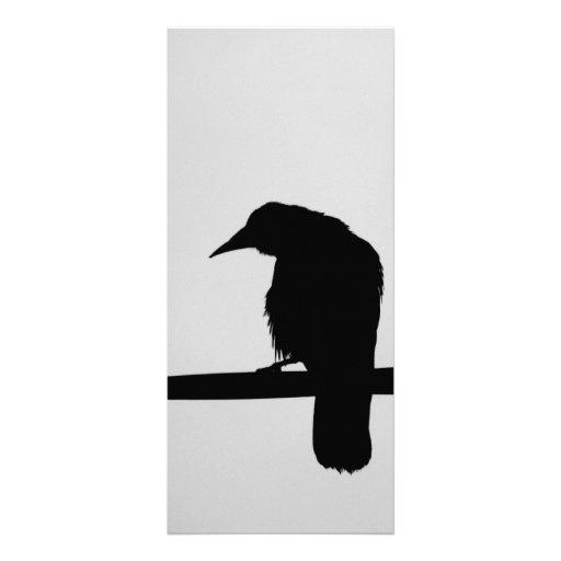 black raven custom rack card