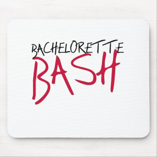 Black/Red Bachelorette Bash Mouse Mats
