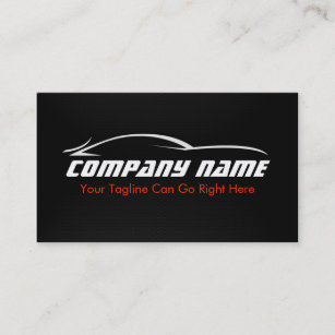 Car shop business cards zazzle au black red car auto carbon fibre business card reheart Gallery