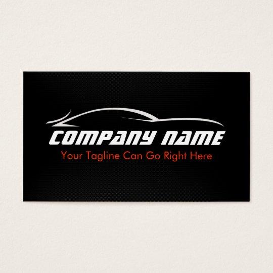 Black red car auto carbon fibre business card zazzle black red car auto carbon fibre business card reheart Choice Image